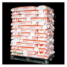 Supertilbud Varga Træpiller 6 mm. 832 kg./Pallen