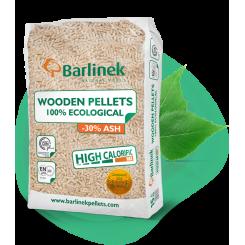 Barlinek træpiller 8mm.