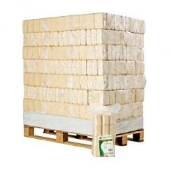 Lyse Træbriketter  ( RUF ) 96x10 kg
